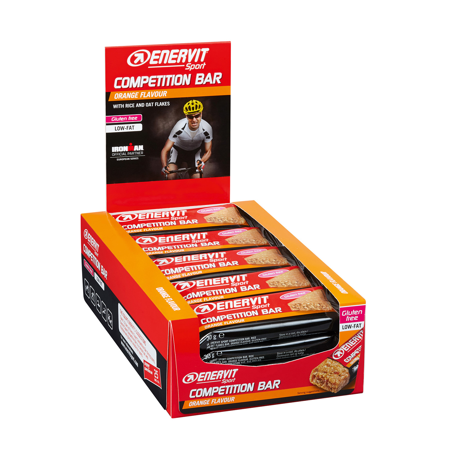 Competition Bar Orange 25er Box