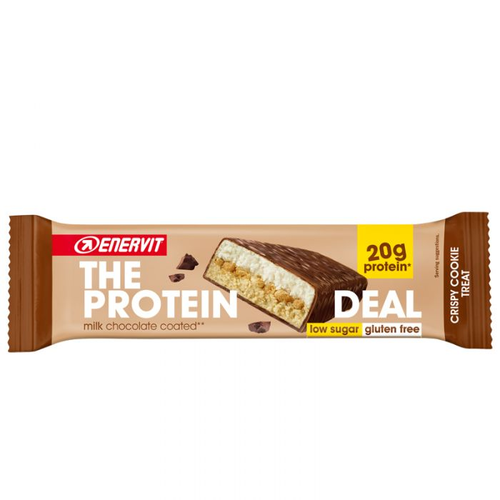 The Protein Deal Bar Crispy Cookie Treat Eiweißriegel