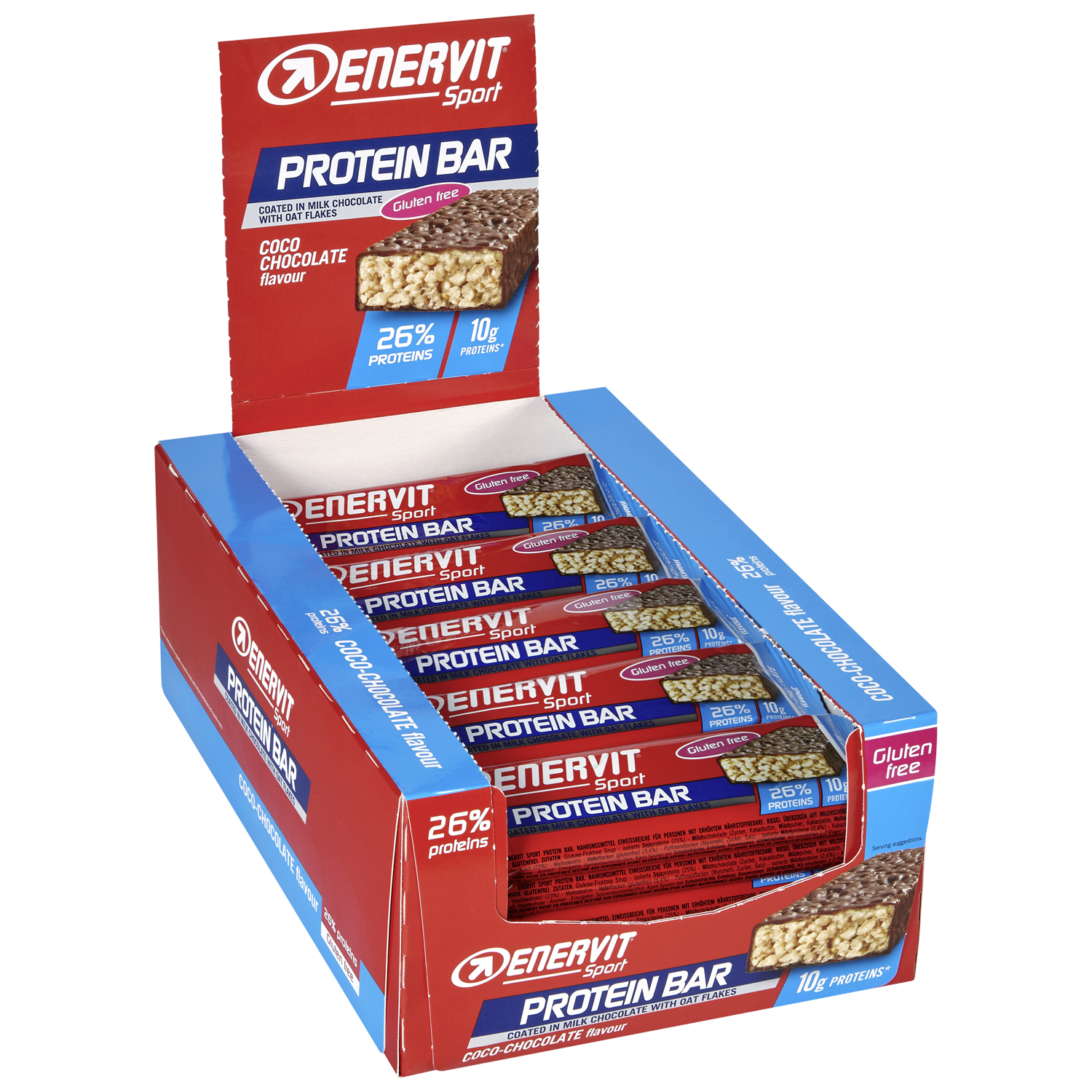 Protein Bar Coco-Chocolate 25er Box