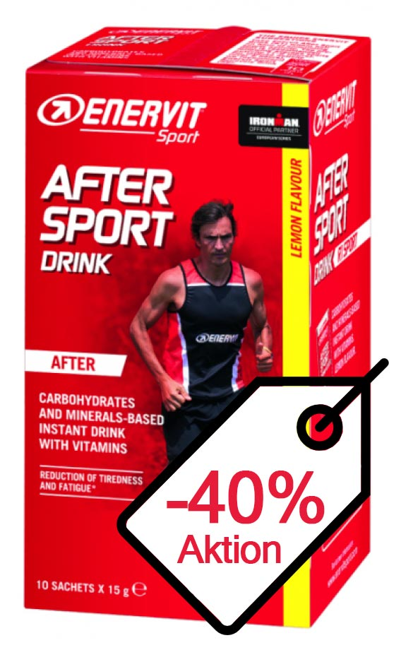 After Sport Drink 10x15g Portionsbeutelbox MHD 04.04.2021